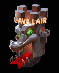 Lava Lair Free Spin bonusgame