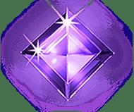Paarse Diamant Starburst
