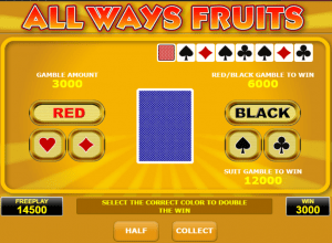 Allways Fruits Gamble Game