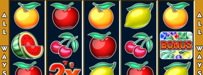 Allways Fruits fruitautomaat
