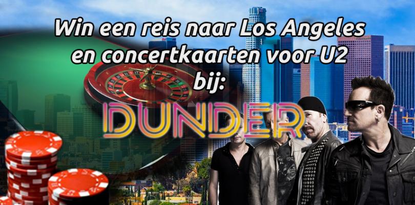 Speel bij Dunder Casino en win een reis naar Los Angeles