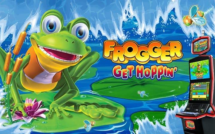 Frogger Get Hoppin' - Skill Based Casino spel