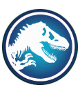 Jurassic World videoslot Wild symbool