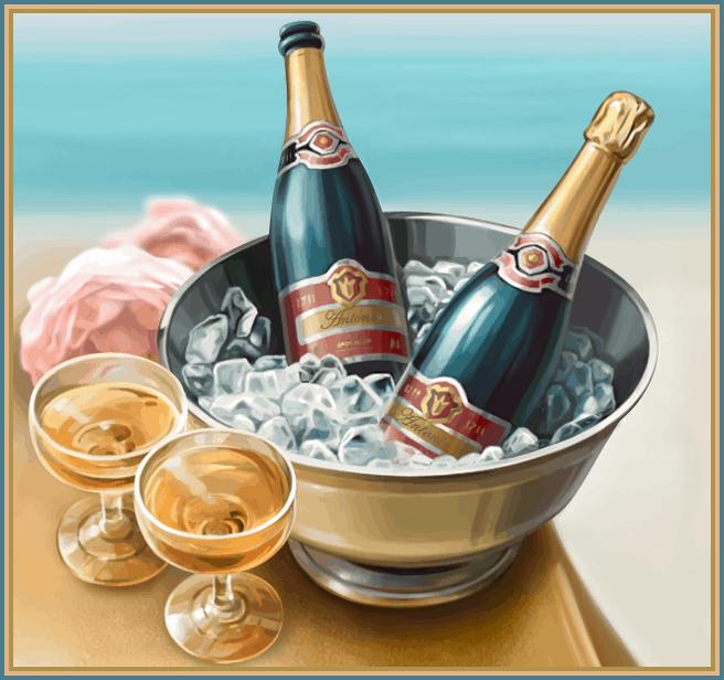 Champagne Symbool