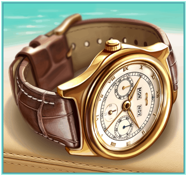 Horloge Symbool