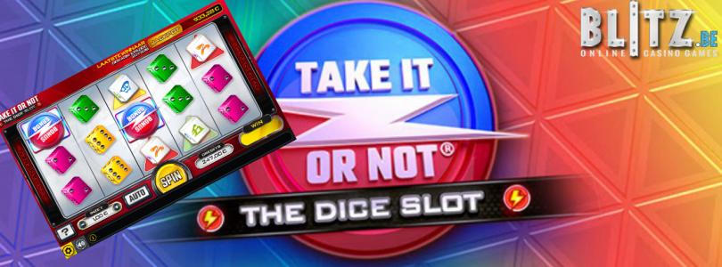 Geniet van nieuwe dice slot en 25% stortingbonus bij Blitz.be