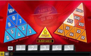 Take it or not dice slot bonusspel