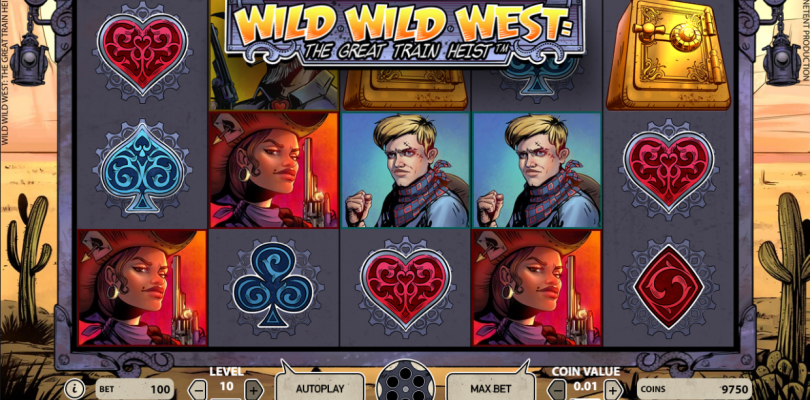 Wild Wild West: The Great Train Heist™ videoslot