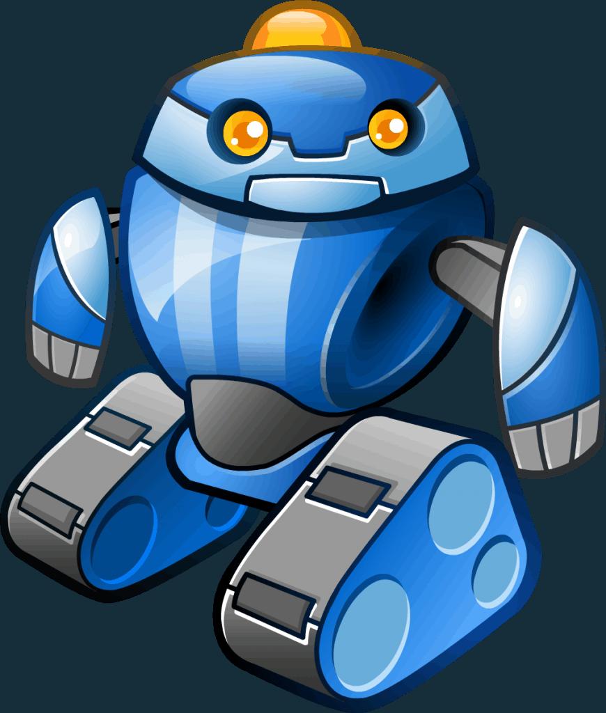 Alien Robots videoslot Politiebot symbool