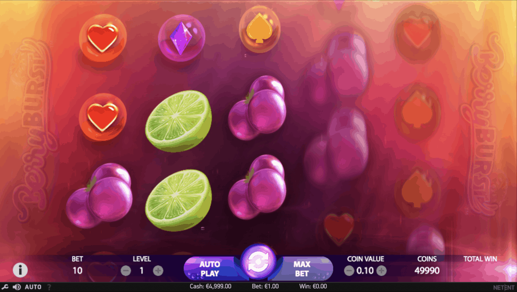 Berryburst (MAX) video slot