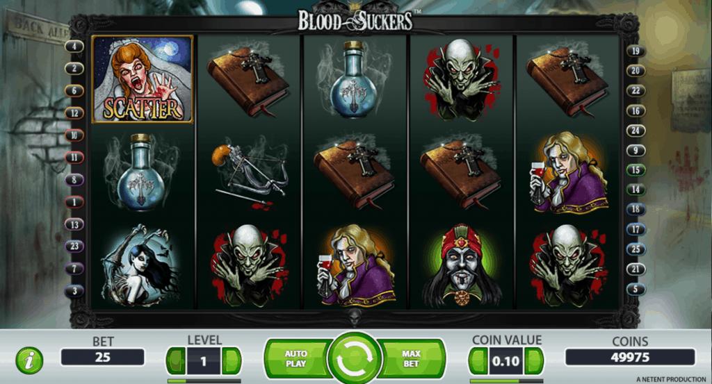 Bloodsuckers videoslot beoordeling