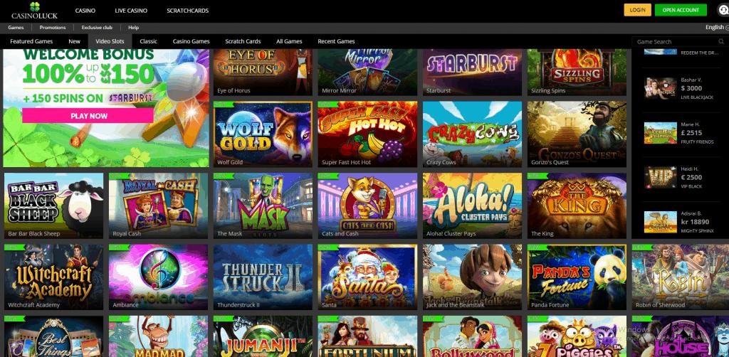 Casino Luck casino spellen