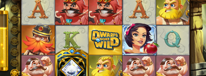 Dwarfs Gone WIld video slot gokkast
