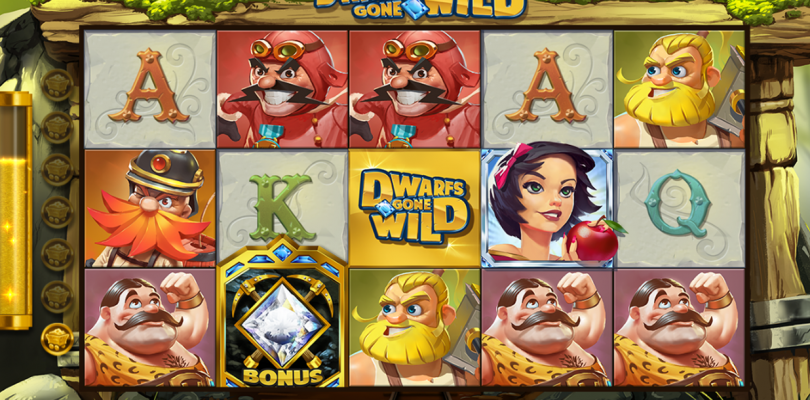 Dwarfs Gone WIld video slot gokkast