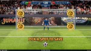 Football: Champions Cup Bonus spel