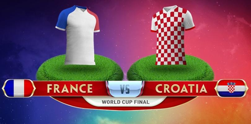 Wedden op finale WK 2018 – Frankrijk – Kroatië