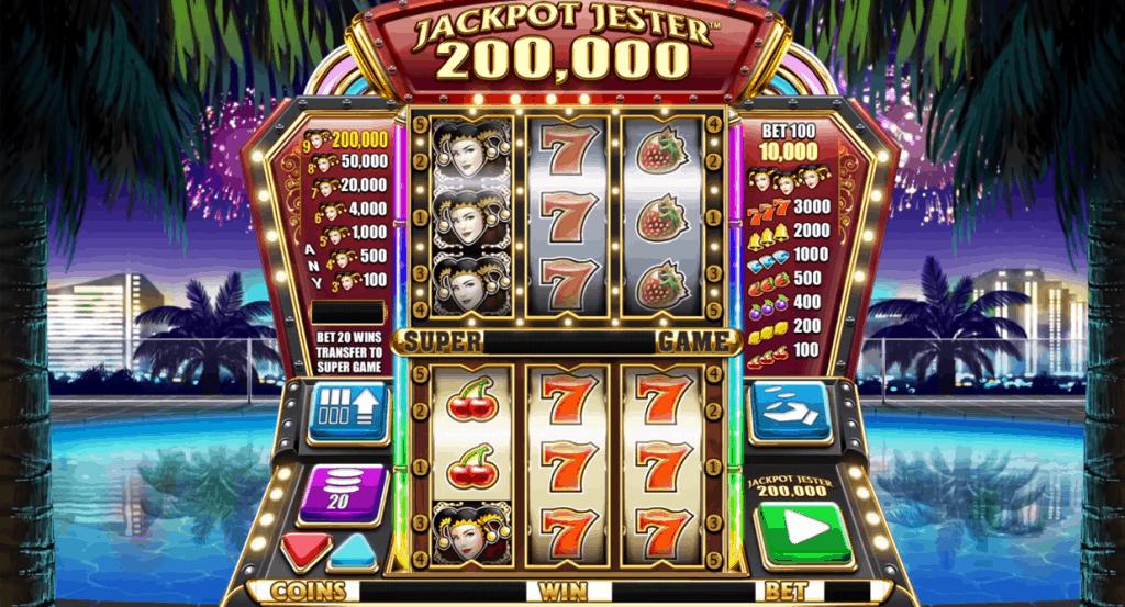 Jackpot Jester 200.000 video slot