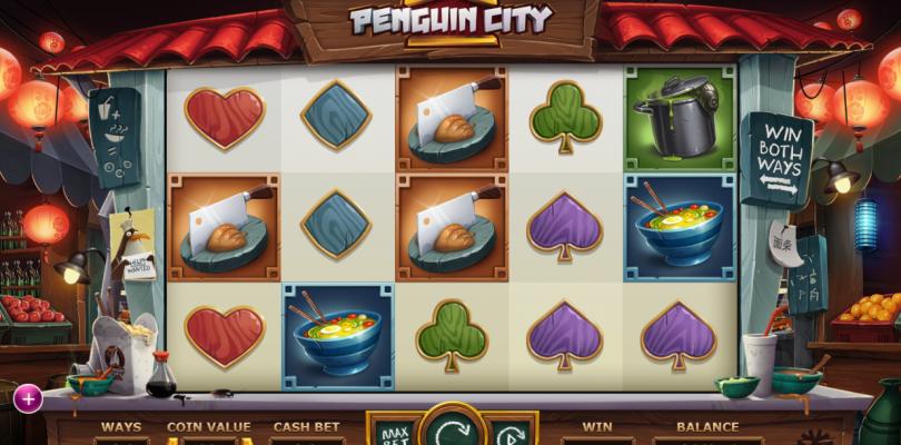Penguin City videoslot