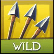 Robin of Sherwood videoslot Wild Symbool