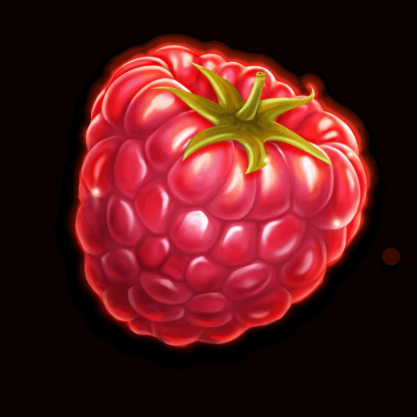 Berryburst video slot gokkast - aardbei symbool