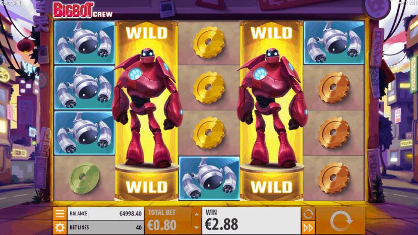 Robotto Wild symbolen