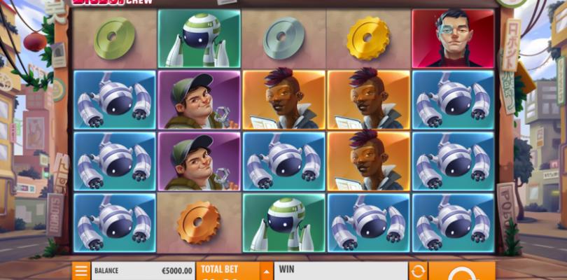 Big Bot video slot screenshot