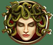 Divine Fortune video slot gokkast - Medusa symbool