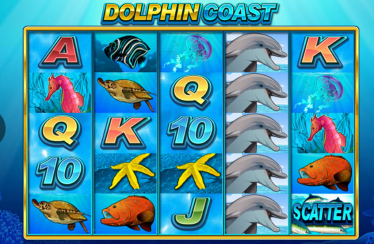 Dolphin Coast video slot gokkast screenshot