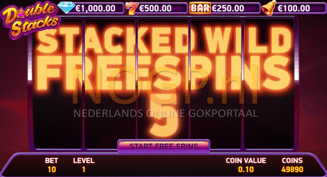 Double Stacks Gokkast free spins