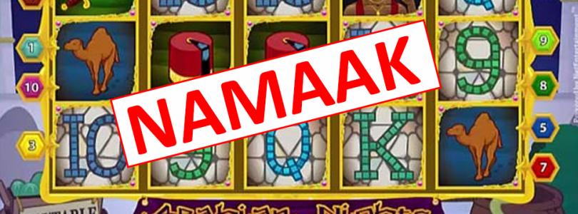 Speel jij op neppe videoslots of gokkasten?