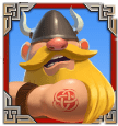 Viking Clash video slot gokkast - Viking 3 symbool