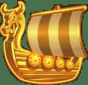Viking Clash video slot gokkast - Ship WIld symbool