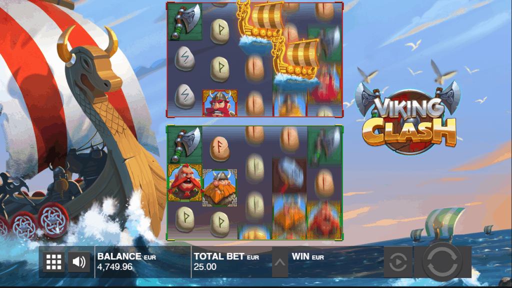 Wild Ship feature van de Viking Clash slot
