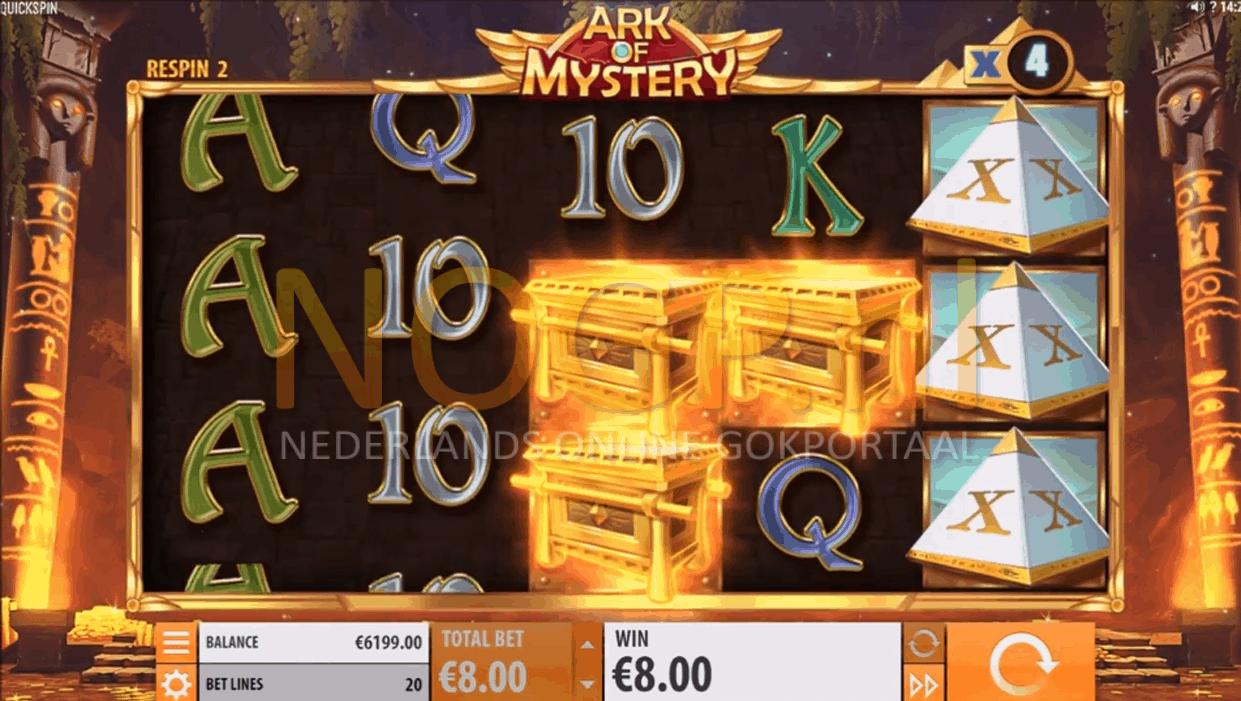 Ark of Mystery gokkast Multiplier Booster