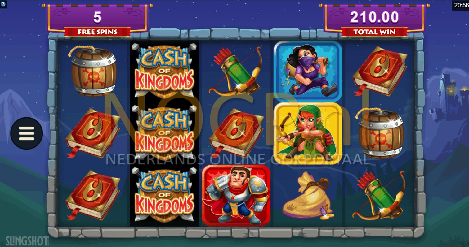 Gratis spins feature Cash of Kingdoms