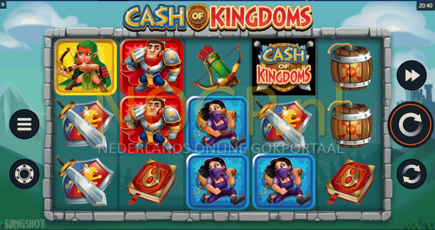 Cash of Kingdoms gokkast screesnhot
