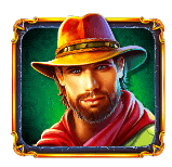 Da Vinci Treasure video slot gokkast - John Hunter symbool