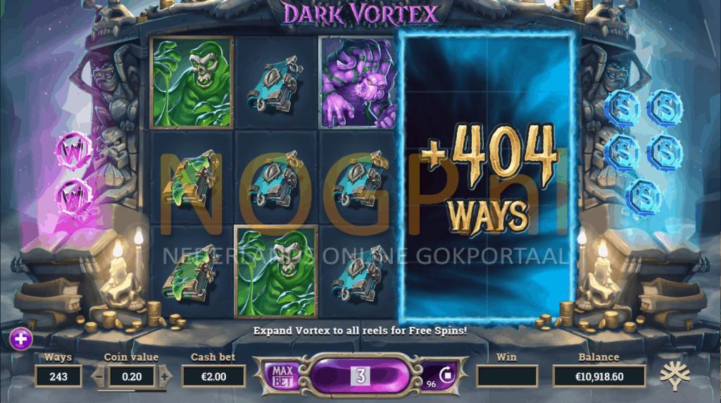 Vortex Reel feature