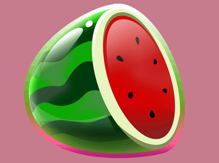 Double Stacks video slot gokkast - Meloen symbool