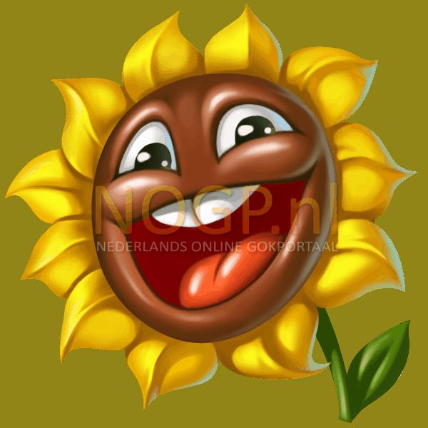 Flowers video slot gokkast - Zonnebloem symbool