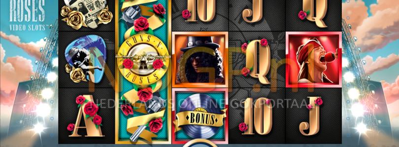 Guns N' Roses video slot gokkast