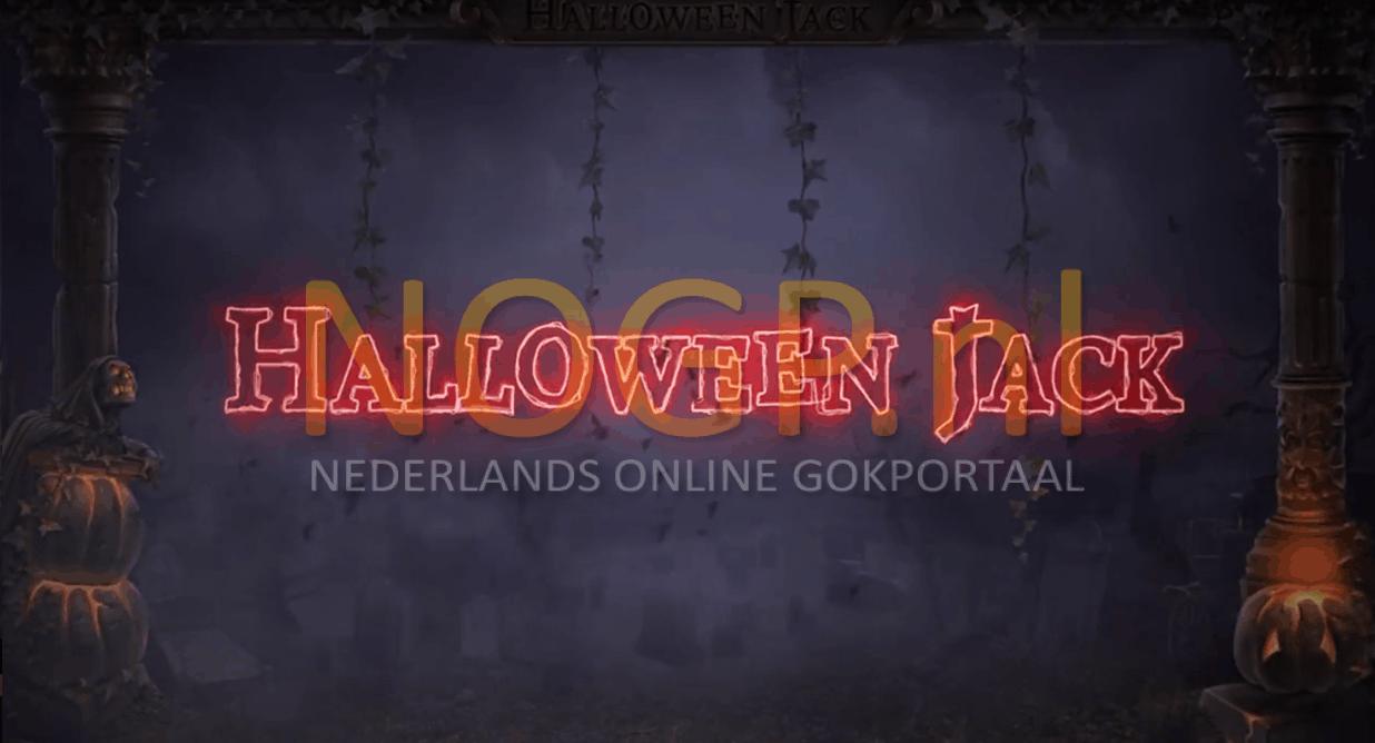 Halloween Jack video slot van NetEnt