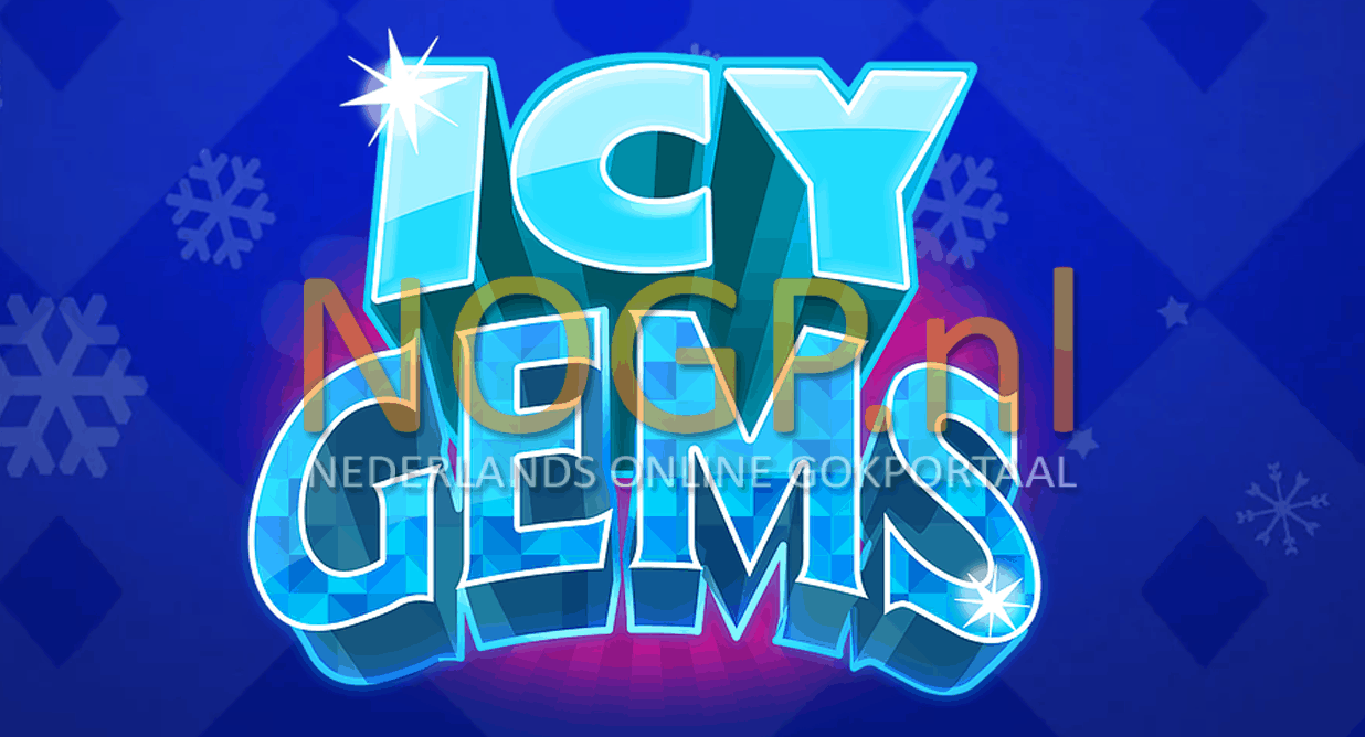 Icy Gems video slot van Just for the Win