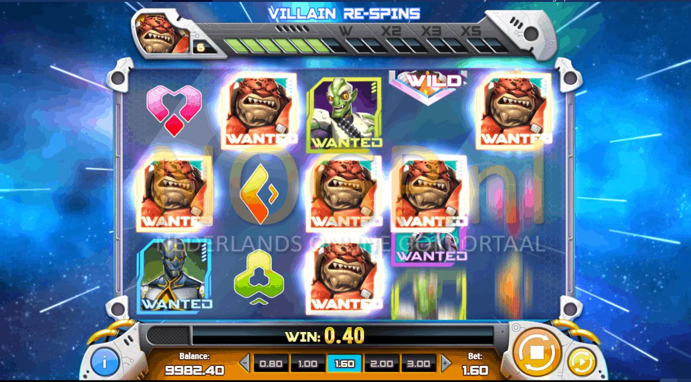 Iron Girl slot bounty bonus feature