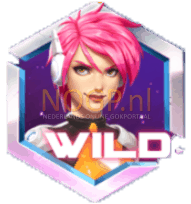 Iron Girl video slot gokkast Wild Symbool