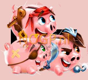 drie zwijntjes piggy pirates slot
