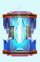 Reactor video slot batterij symbool
