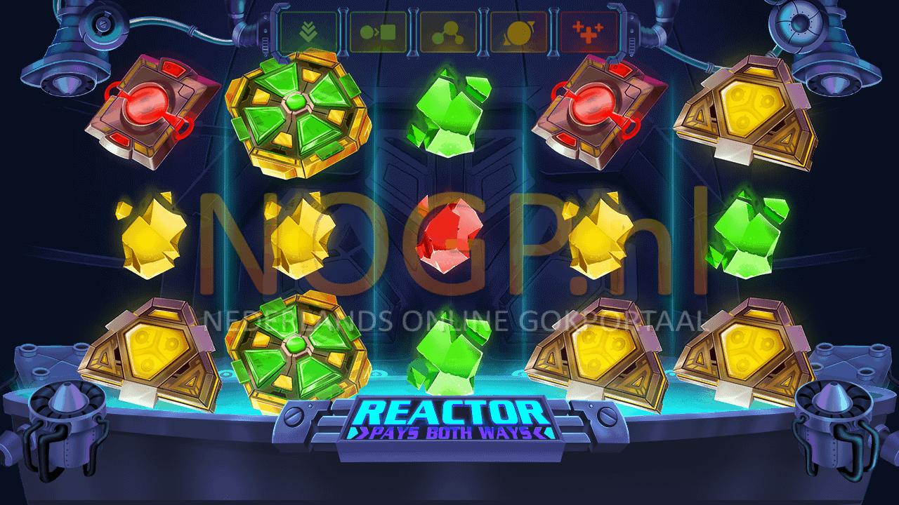 Reactor gokkast screenshot