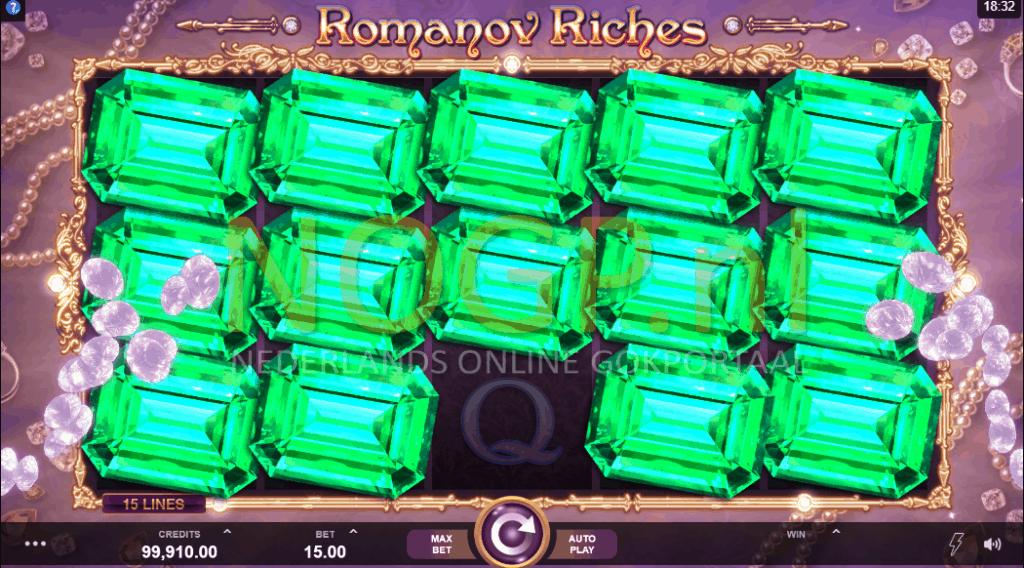 Romanov Riches respin feature