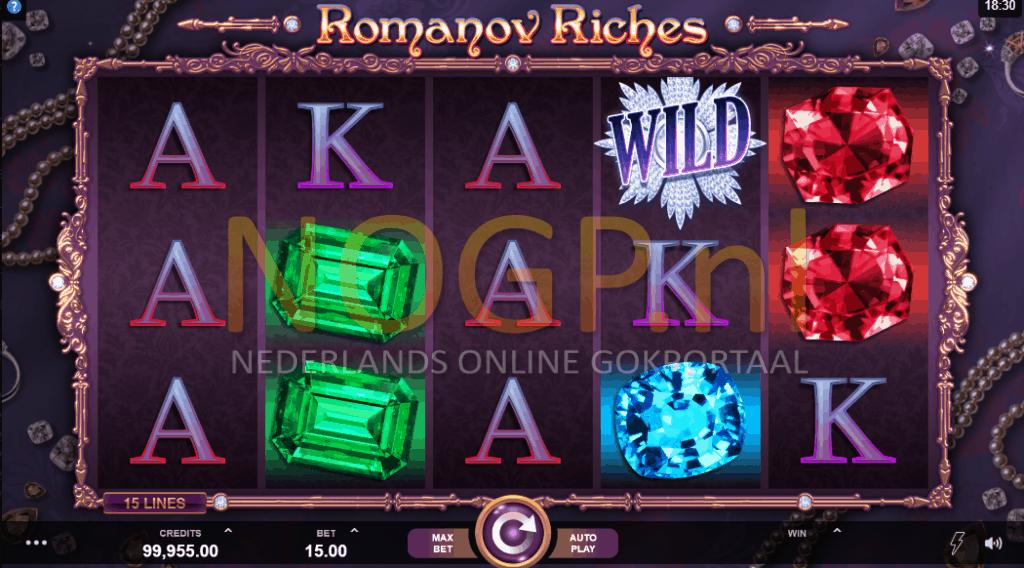 Romanov Riches gokkast screenshot